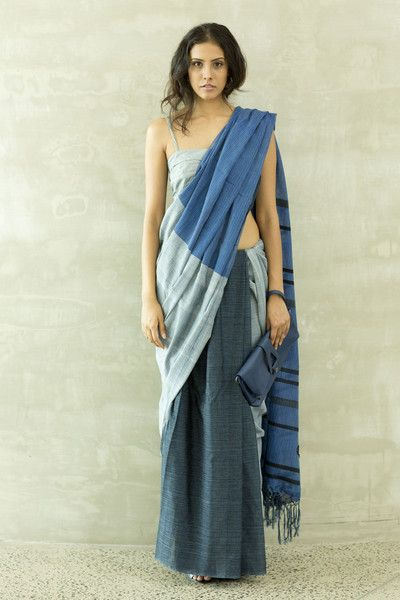 Denim Saree 2- immediate shipping- order now