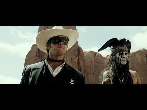 The Lone Ranger New Trailer #LoneRanger