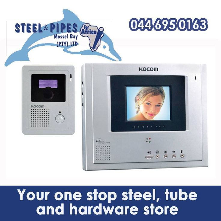 Visit Steel and Pipes for all your home security needs. This includes electric gate motors, intercoms and loads more! #homesecurity #lifestyle #kocom
