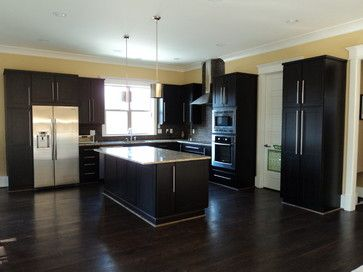 Kitchen Design Ideas Dark Cabinets 49 best hickory dining room images on pinterest