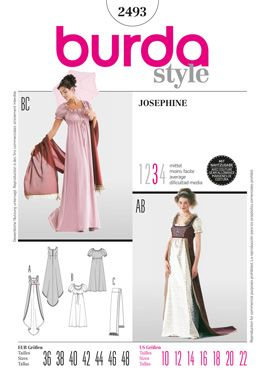 Very elegant, in color for a dress or on white for a nightgown