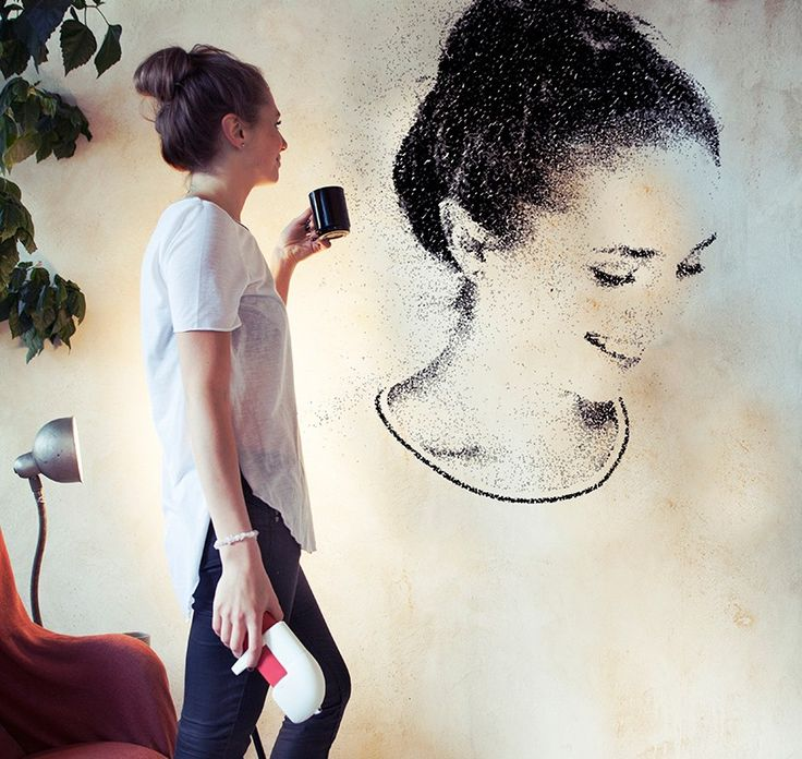 SprayPrinter presents a new way to paint your walls