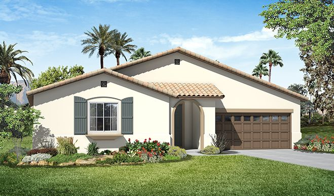 Paige-S24P-Steeplechase Elevation A Rend | Paige floor plan | Richmond American Homes | ,  |