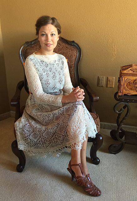Ravelry: tatty152's Project 8 - Adult Shetland dress