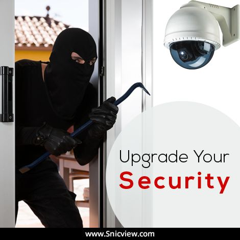 Security is not a luxury anymore, it's a need. Upgrade your home security with SnicView.