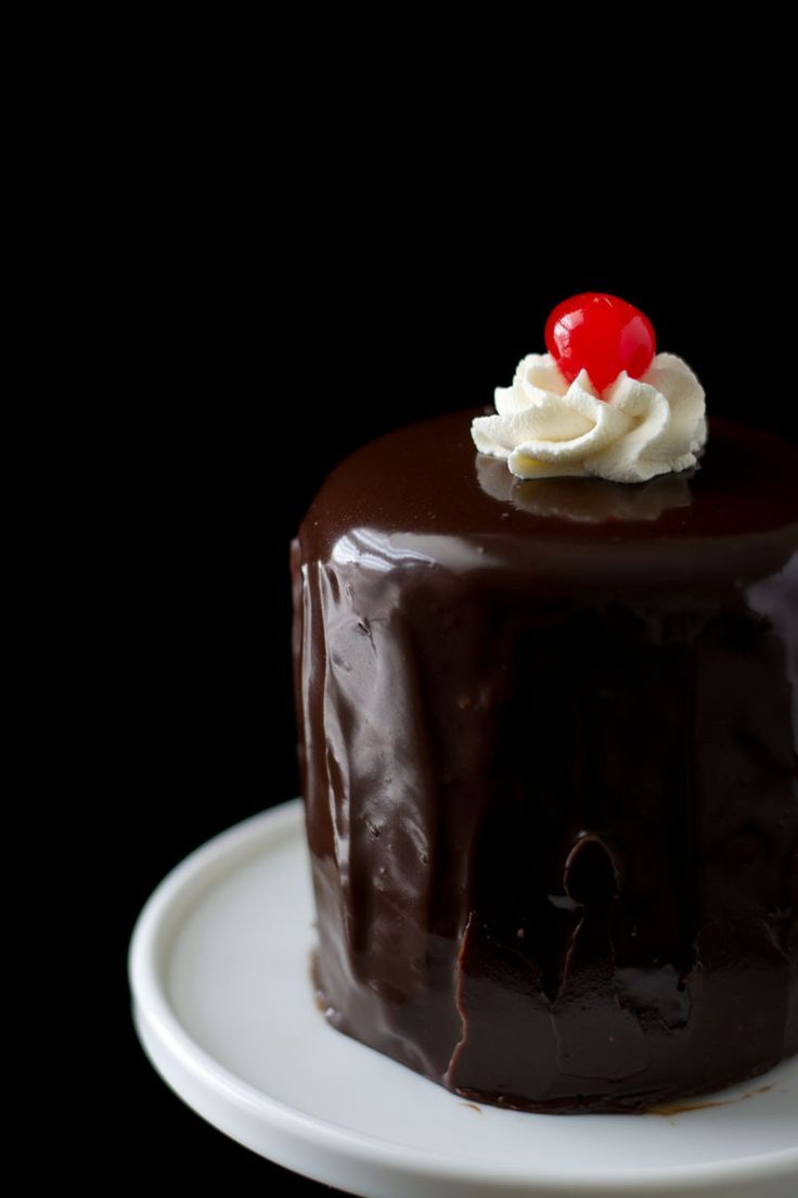 Inside-Out Black Forest Cake