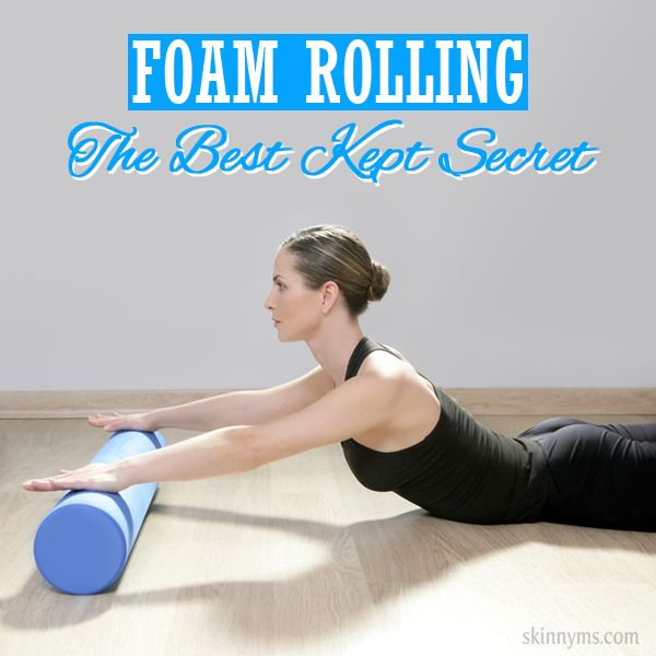 I LOVE foam rolling! It is seriously the best kept secret for anybody involved in fitness. #foamrolling #tips