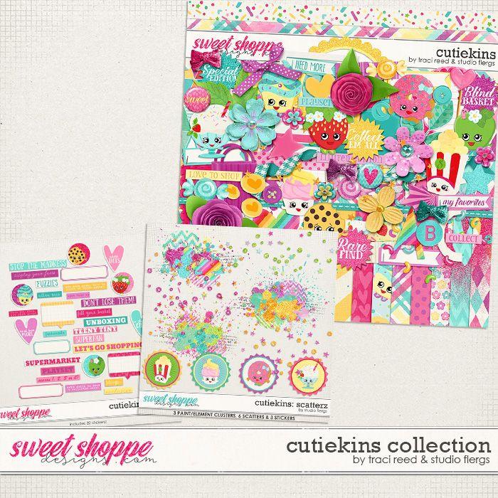 Cutiekins Collection by Traci Reed & Studio Flergs