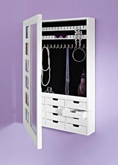 Les 25 meilleures id es concernant armoire bijoux sur - Miroir sur pied range bijoux ...