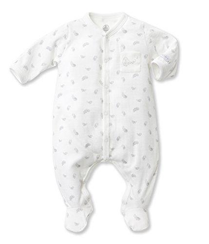 Petit Bateau Unisex-Baby Newborn Feat…