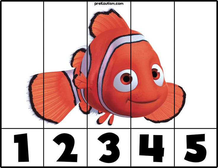 Finding Nemo | #1-5 Puzzles - Autism & Education