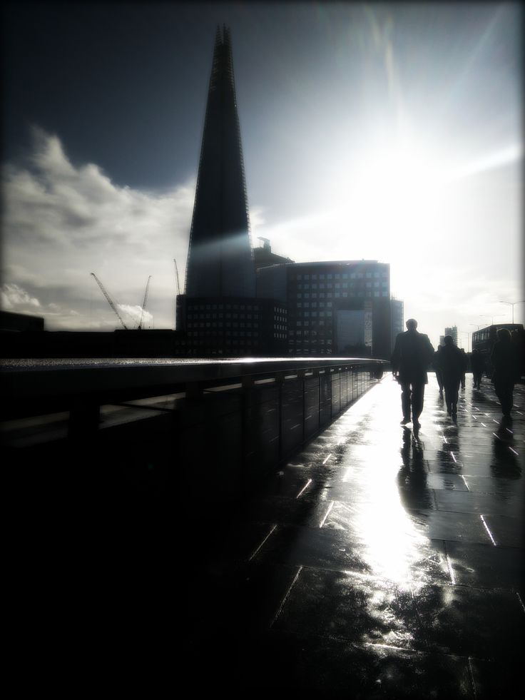 Beautiful day in London today #LondonBridge #TheShard #Shardview