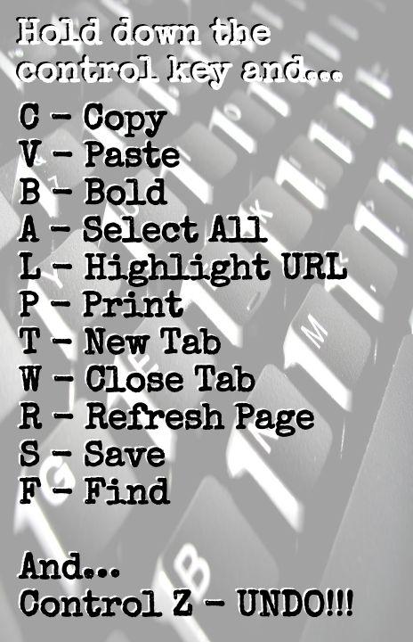Keyboard Shortcuts | Teacher Tech
