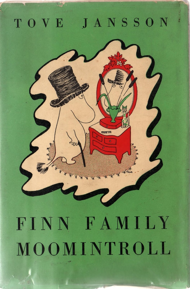 <3 Finn family Moomintroll by Tove Jansson