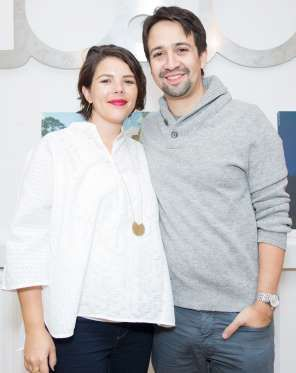 Lin-Manuel Miranda is onto Act II of fatherhood! The Broadway composer and his wife Vanessa Nadal ar... - Isabel Infantes/PA Images/Getty