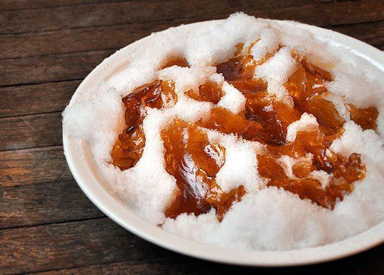 Snow Day Treat: How To Make Maple Syrup Taffy | The Kitchn