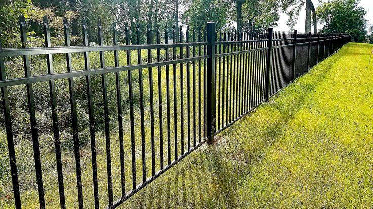 3 Rail Belmont Style Aluminum Fencing Aluminum Fence