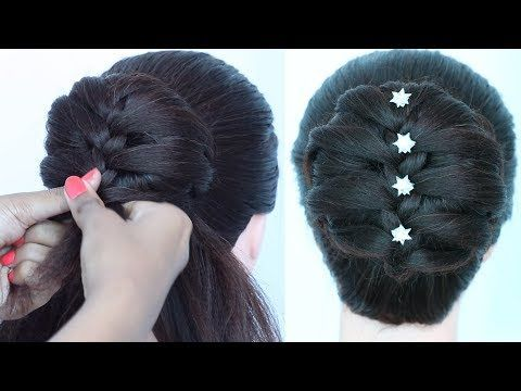 top tips help new trending latest juda hairstyle for wedding & party | braided hairstyle ...