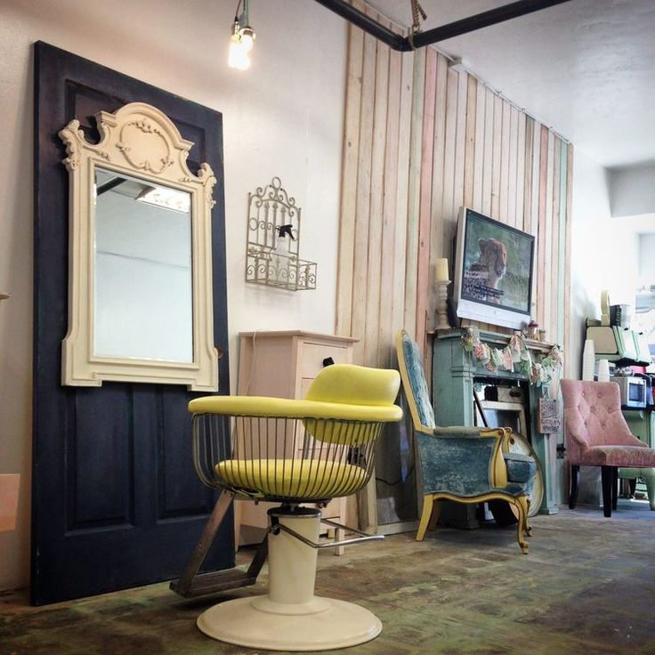A Vintage Inspired Salon In San Diego