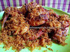 Resep Ayam Goreng Bumbu Serundeng| Resep Masakan Indonesia