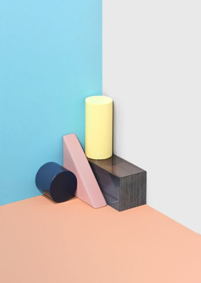 MINTY WARES | Shape & colour create fantastic but simple visuals. by josep lopez