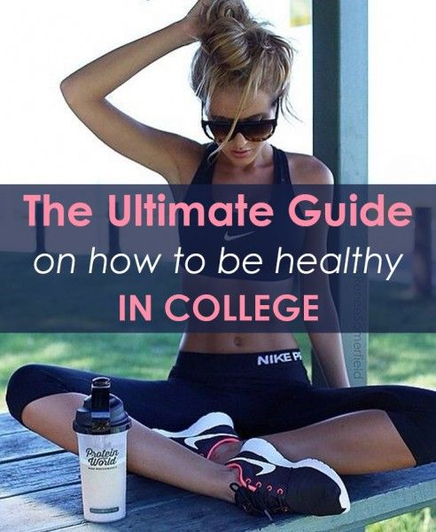 Being healthy is not unattainable. Whether you want to lose that freshman 15 or just prevent it, this guide will make you realize how simple it can be. To easily navigate this guide, it is split into 3 sections: Get Moving, Get Eating, and Get Relaxed. Get Moving! Exercise is one of the key components of being healthy. Getting up and being active is one of... #college #collegehealthy #collegelife