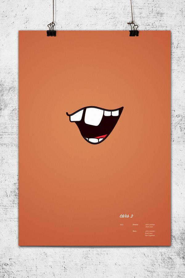 http://www.behance.net/gallery/Pixar-Minimal-Posters/3008131