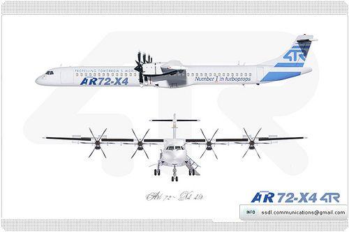 ATR 72-X4 4TR Concept | ATR 72-X4 4TR Concept | Flickr