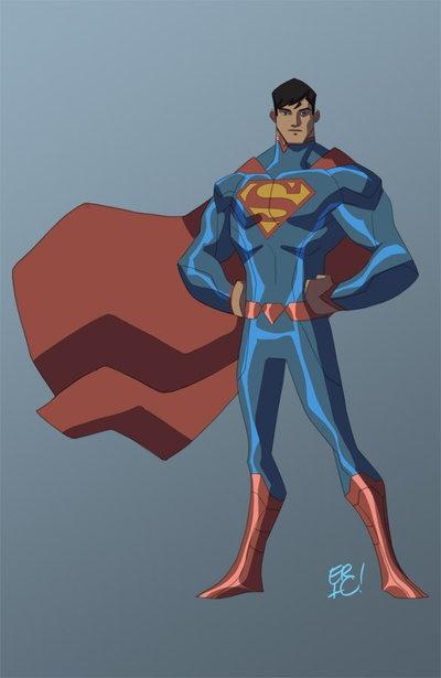 Animated Superman! by EricGuzman.deviantart.comAnimal Superman, Batman Character, Eric Guzman, Things Superman, Character Design, Comics, Http Ericguzman Deviantart Com, Superman 3, Fanart