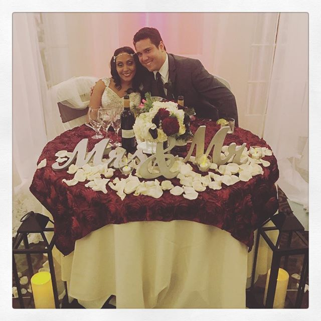 """""""I loved you then, I love you still, always have, always will."""" We wish you two nothing but a lifetime of happiness ❤️️#weddingday #sterlinghotelsacramento #wedgewoodbride #wedgewoodgroom #sweethearttable #love #wedgewood #wedgewoodwedding #wedgewoodsterlinghotel #happycouple #weddingcoordinator #mrandmrs"""