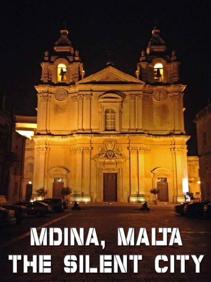 Exploring Mdina, Malta, by day and night!  One of our favorite cities we've ever visited.