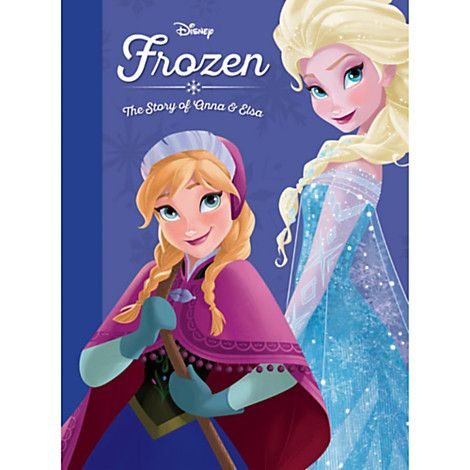 Frozen The Story Of Anna Elsa Book