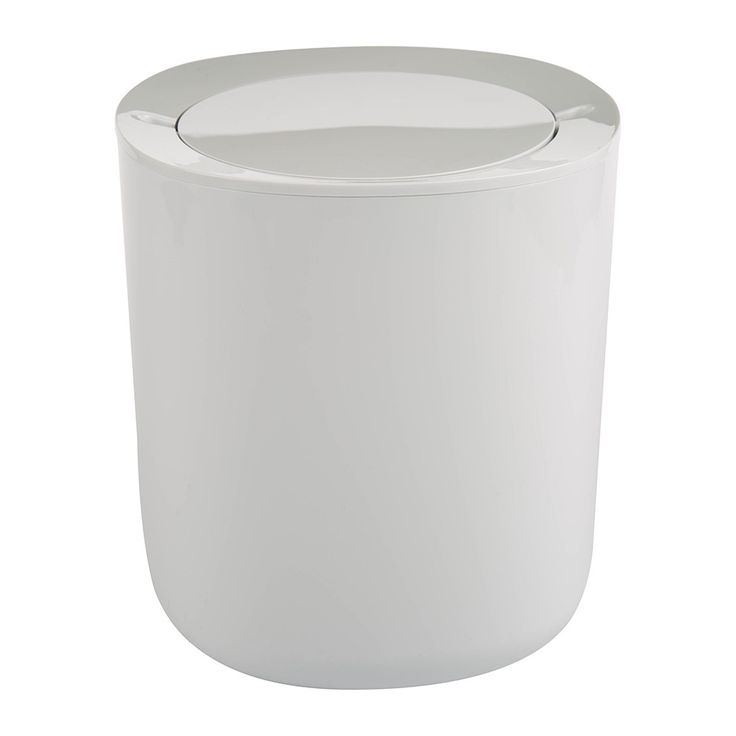 Discover the Alessi Birillo Bathroom Waste Bin - White at Amara