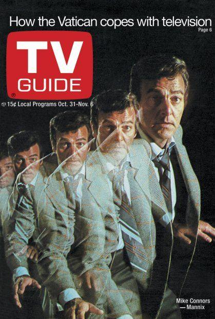 MANNIX - 1970 - TV GUIDE