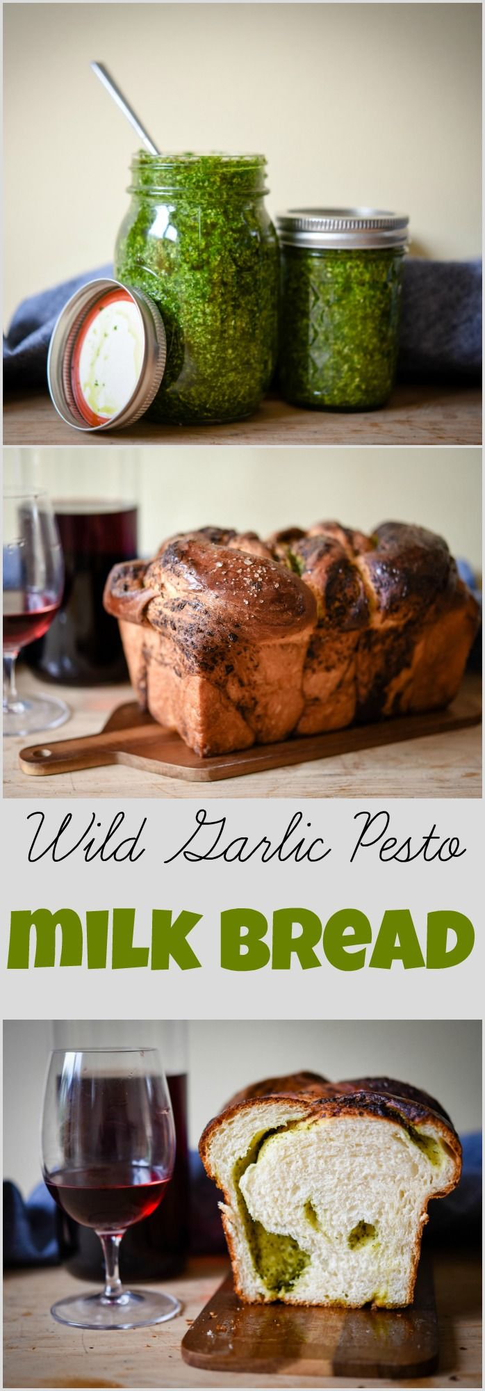 Wild Garlic Pesto Milk Bread | Patisserie Makes Perfect