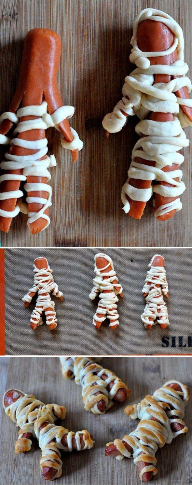 Mummie hotdogs! leuk hoor