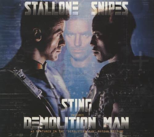 "Sting Demolition Man CD single (CD5 / 5"") UK STIC5DE156414"
