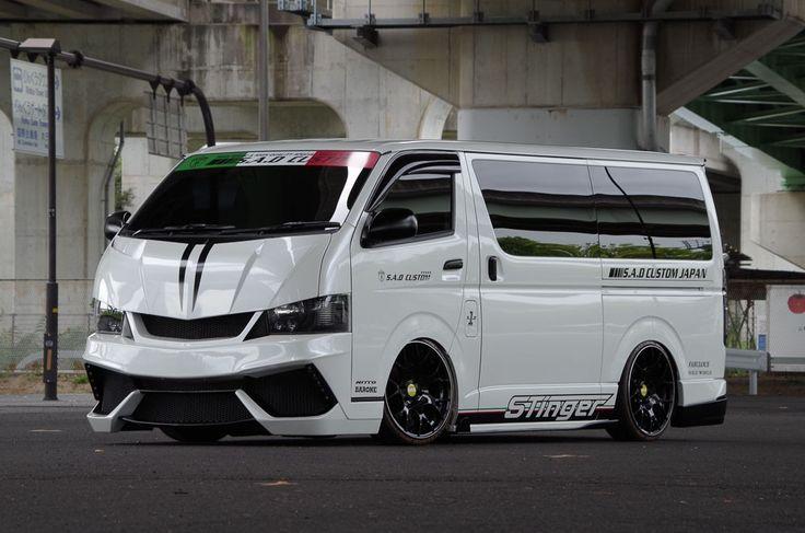 S.A.D. Custom Japan Toyota HiAce Stinger 200HIACE is Forward-Control Frivolity