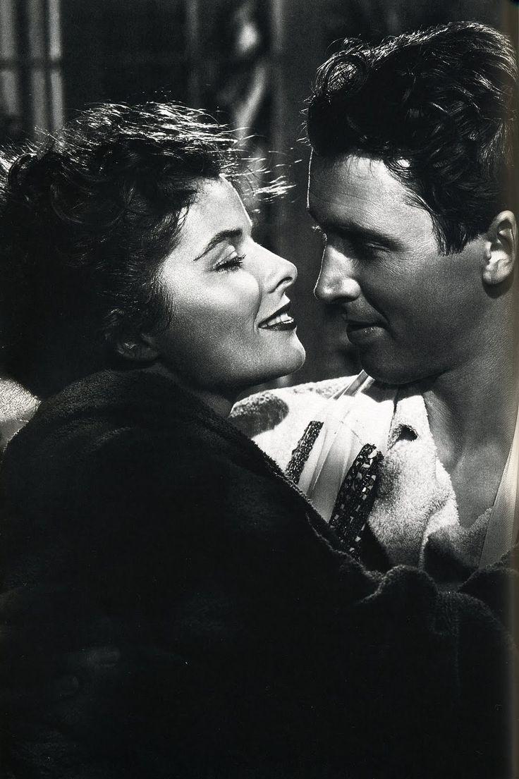 "James Stewart y Katharine Hepburn en ""Historias de Filadelfia"" (The Philadelphia Story), 1940"