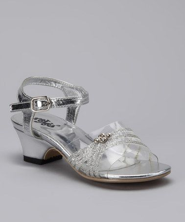 This Silver Dress Sandal by Xeyes is perfect! #zulilyfinds