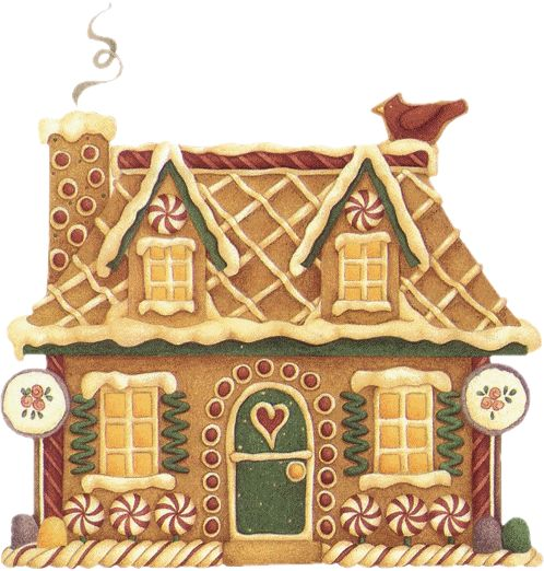 christmas clip art gingerbread house - photo #12
