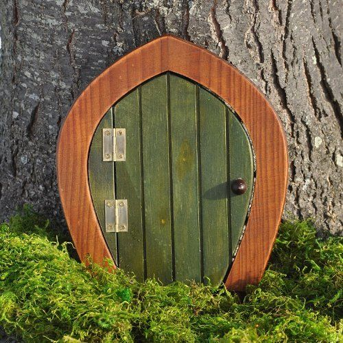 17 best images about gnomes fairies and other cool garden for Wooden fairy doors