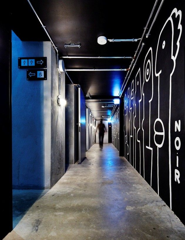 The Generator Hostel Berlin Mitte in Germany, has been created by Ester Bruzkus together with WAF Architects and DesignAgency.