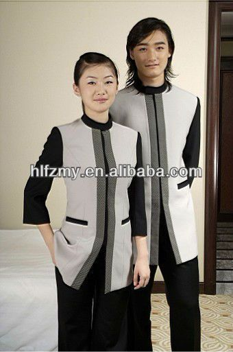 Cheap housekeeping uniform for man 0 8 uniform designs for Hotel design jersey