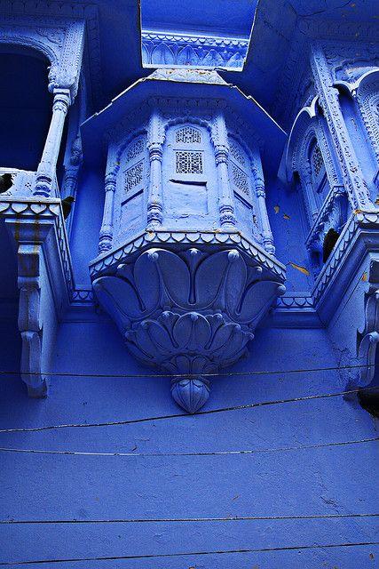 balcony in blue like rhapsody in blue