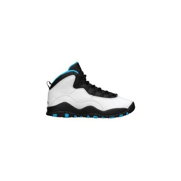 Jordan Retro 10 Boys' Grade School ($120) ❤ liked on Polyvore featuring shoes, jordans, sneakers and cute