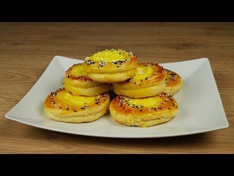 Πρωτότυπα τυροπιτάκια με σπιτική ζύμη γιαουρτιού - YouTube