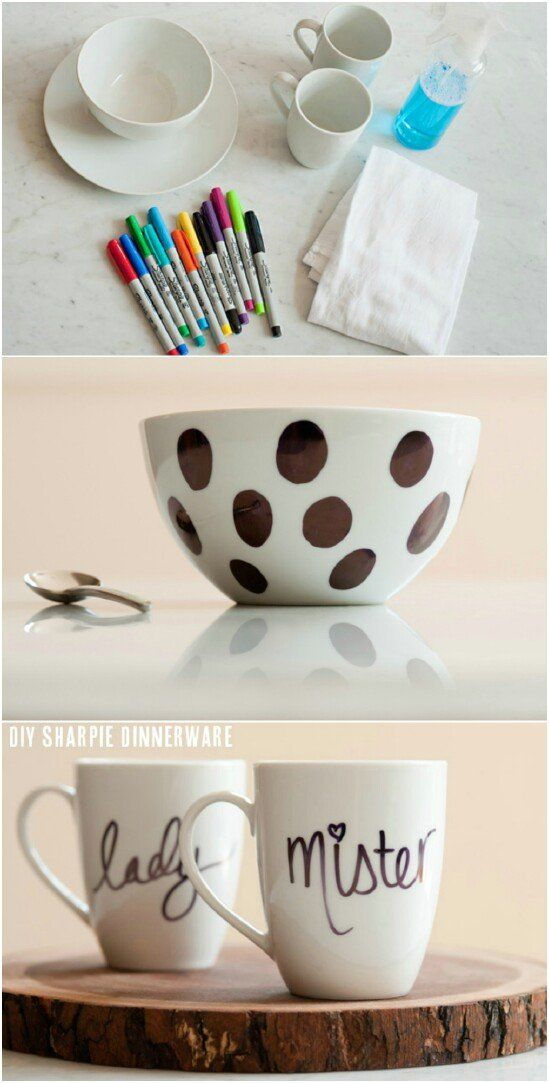 Crafting is so much fun especially when its easy and inexpensive Take for instance these amazing Sharpie crafts and decor projects that you can do