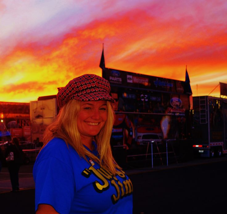 The NHRA Drag Races @ The Pomona Fair Plex, California, USA, in the Hot Rod manufacturing concession stands.