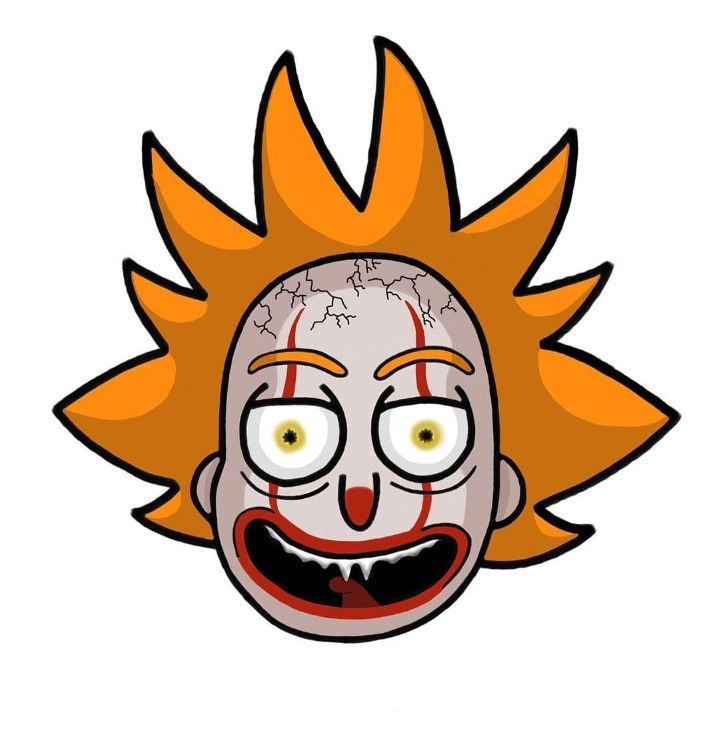 Rick and Morty x Pennywise